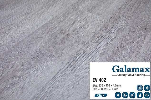 Sàn nhựa hèm khóa Galamax EV402