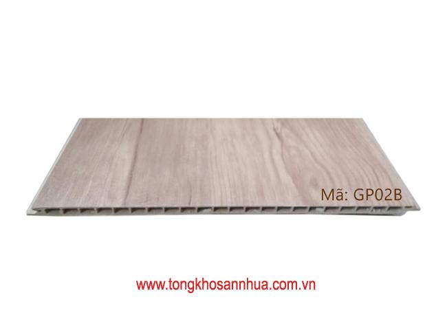 Tấm ốp phẳng có màng PVC GP02B