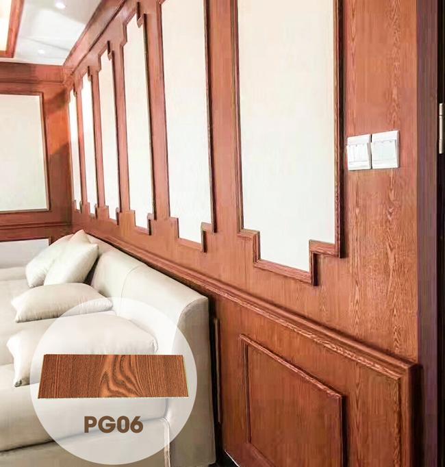 Tấm ốp phẳng có màng PVC PG06