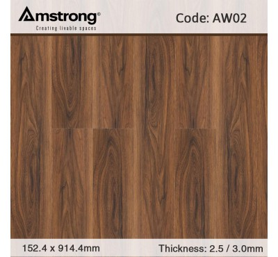 Sàn nhựa giả gỗ Amstrong AW02